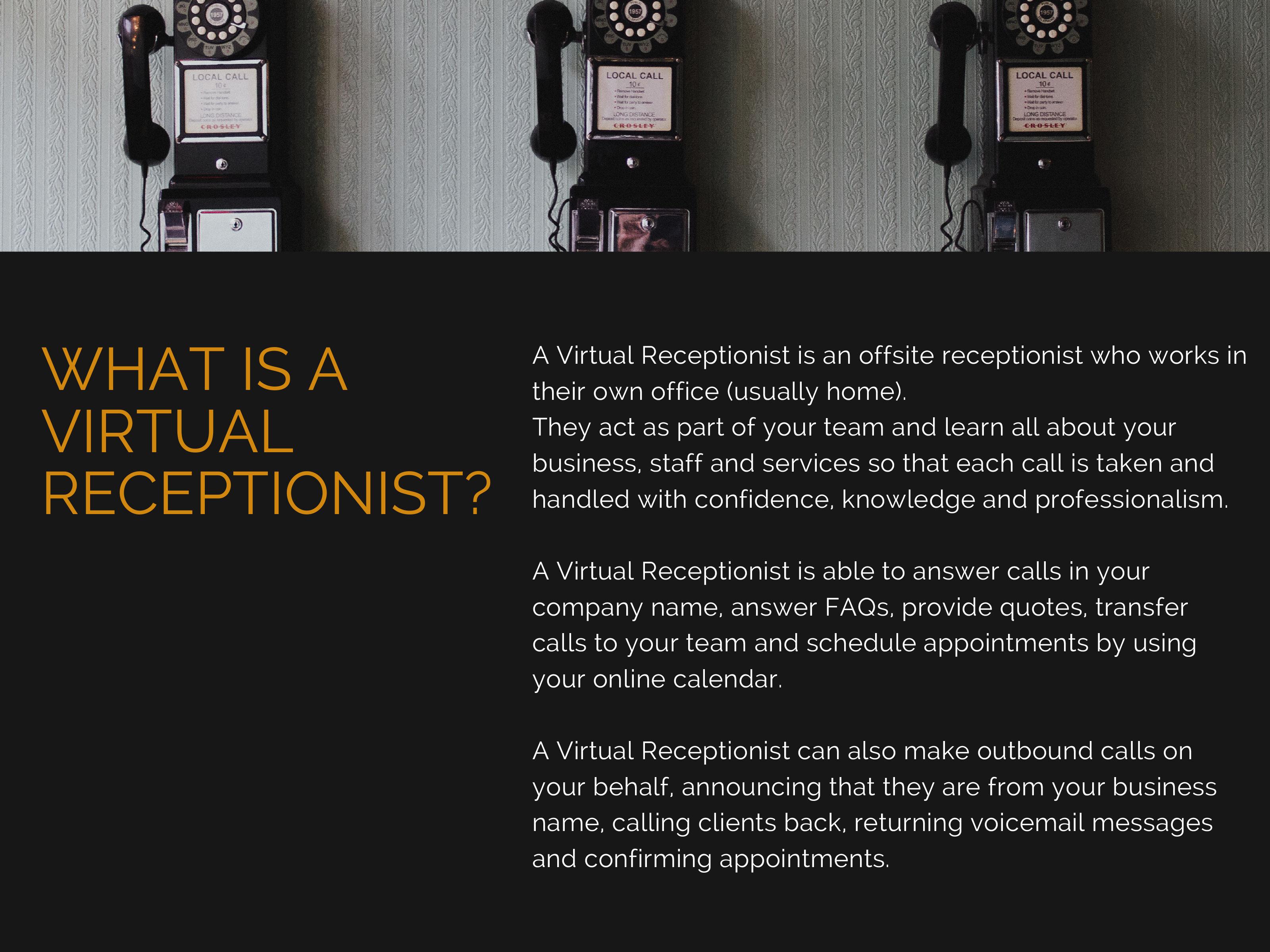 Virtual Reception Virtual Office Solutions